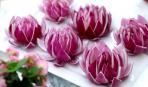 8 марта: как сделать цветы из овощей для праздничного стола