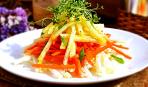 Пісне меню: салат «Овочеві спагетті»