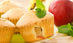 Маффины с яблочной начинкой: простой рецепт