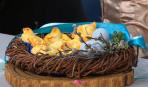 Булочки в форме голубей - к праздничному столу
