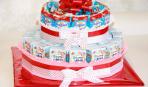 Торт из барни и сока в детский сад: мастер-класс