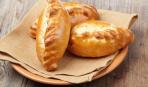 Пирожки на скорую руку на кефире (без дрожжей)