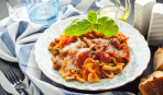Ужин в мультиварке: макароны с овощами