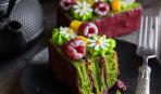 Современные десерты: пирожное «Малифик» с малиной и фисташкой