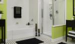 10 примеров стильной ванной комнаты с душевой кабиной