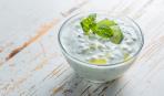 Греческий йогуртовый соус - из свежих огурцов и зелени