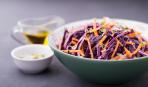 Кимчи по-корейски из краснокочанной капусты