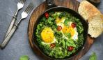 Смачна ідея для сніданку - зелена Шакшука