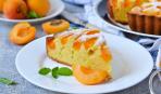 """Пирог """"Абрикосовое наслаждение"""" - простой, быстрый и очень вкусный"""