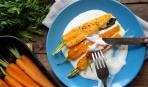 Летний гарнир: молодая морковь, запеченная с шалфеем