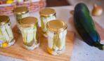 Цукини с сельдереем по-итальянски в оливковом масле