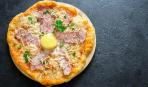 """Для сытного ужина: пицца """"Карбонара"""""""