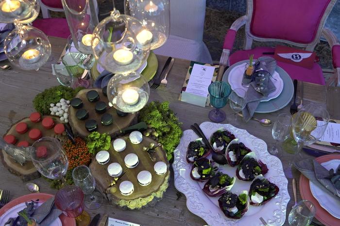 Стенд Eklektik Group: угощения от Botanica Catering