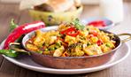 Вегетарианское карри с тофу и овощами - ужин на скорую руку