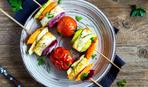"""Блюдо дня: овощные шашлычки """"Краски лета"""" (в духовке)"""
