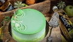 """Современные десерты: Муссовый торт """"Пьяное яблоко"""" с шоколадным велюром"""