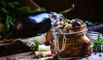 Манжо из баклажанов - необычная закуска на зиму