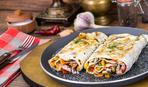 Как приготовить на гриле вкусный лаваш с овощами (видео)