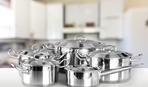 Кастрюля из стали: обзор изделий украинского производства