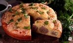 "Заливной пирог с фрикадельками ""Обед пастушки"""